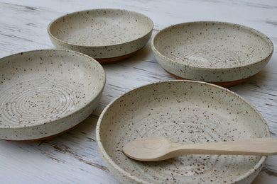 Set of 4 Rustic Bowls.