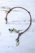 Multi-Strand Boho Flower Necklace