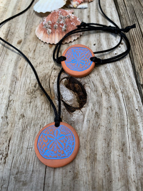 Sand Dollar Essential Oil Diffuser Jewelry.