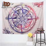 Colored Elephant Tapestry Decorative Mandalas