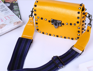 Yellow Mini Crossbody Bag