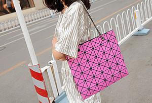 Fashion Diamond Shoulder Bag