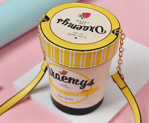 Cute Ice-Cream Style Bucket Bag
