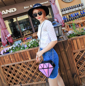 Mini Shiny Laser Crossbody Bag
