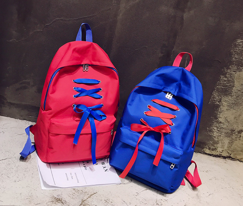 Korean Style Cute Bowknot Backpack