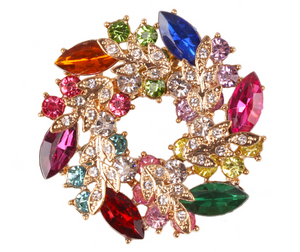 Colorful Shinning Brooch