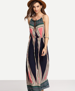 Slim Bohemia Style Long Dress