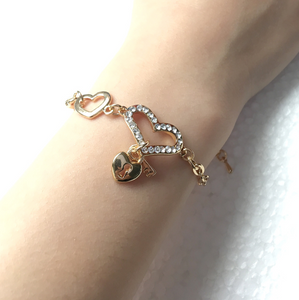Lovely Cute Sweet Heart Bracelet