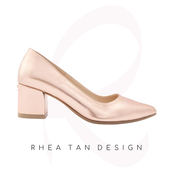 "Amanda Rose Gold by Rhea Tan Design - ""Shoes, Not Just For Walking"""