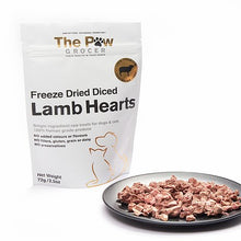 Freeze Dried Diced Lamb Hearts