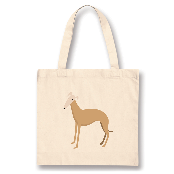 Tote Bags - Whippet Gold
