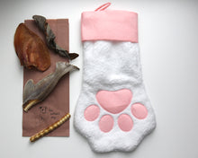 The Pink Paw Deluxe Christmas Stocking