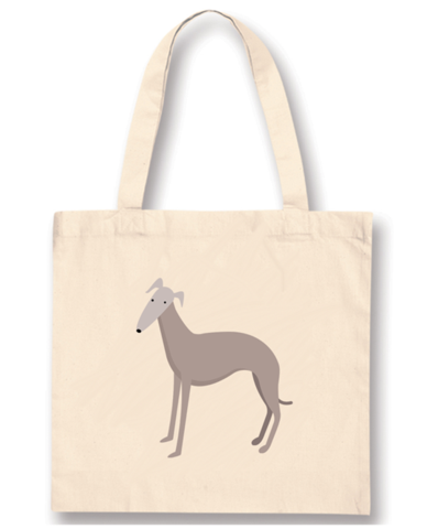 Tote Bags - Whippet Pink