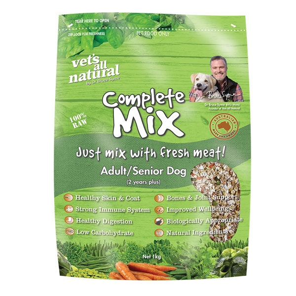 Vets All Natural Complete Mix 15kg