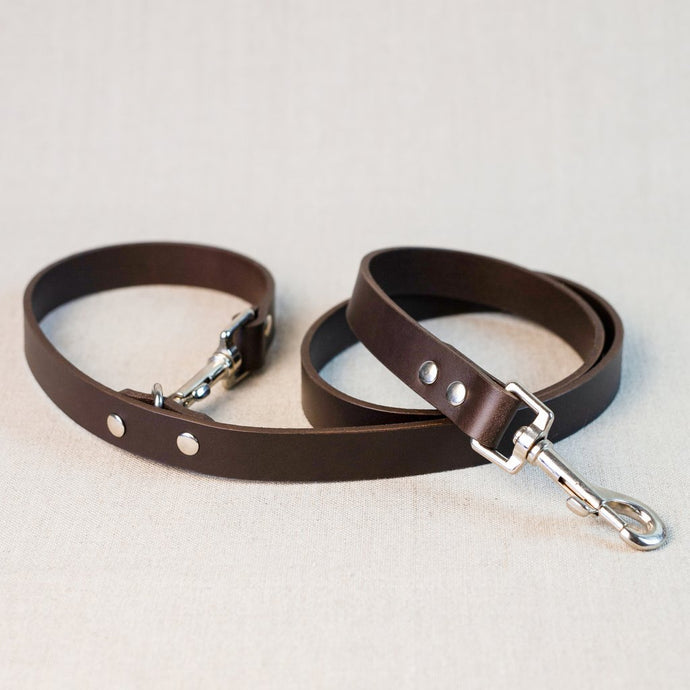 Nice Paws Leather Leash