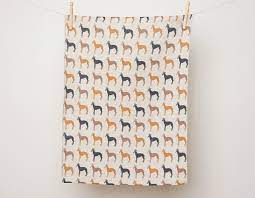 Whippets Tea Towel