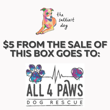 Dog Rescue Treat Box- ALL 4 PAWS