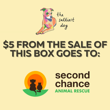 Dog Rescue Treat Box- SECOND CHANCE ANIMAL RESCUE