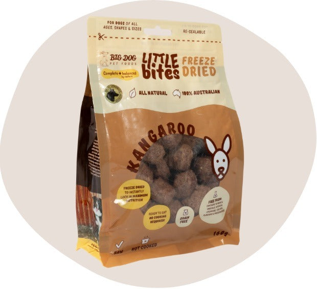 Little Bites Freeze Dried Kangaroo - Single Protein