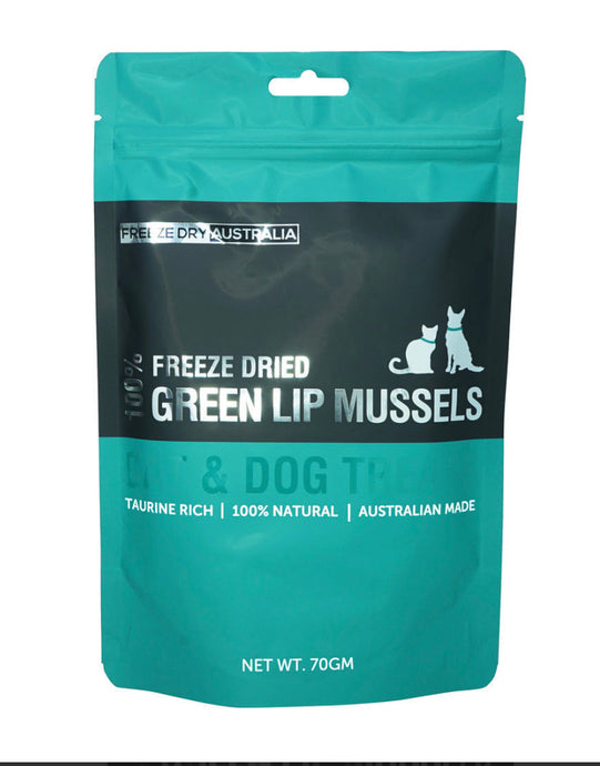Freeze Dried Raw Green Lipped Mussels