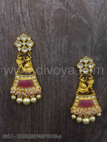 Pink Boutique Designer Earrings