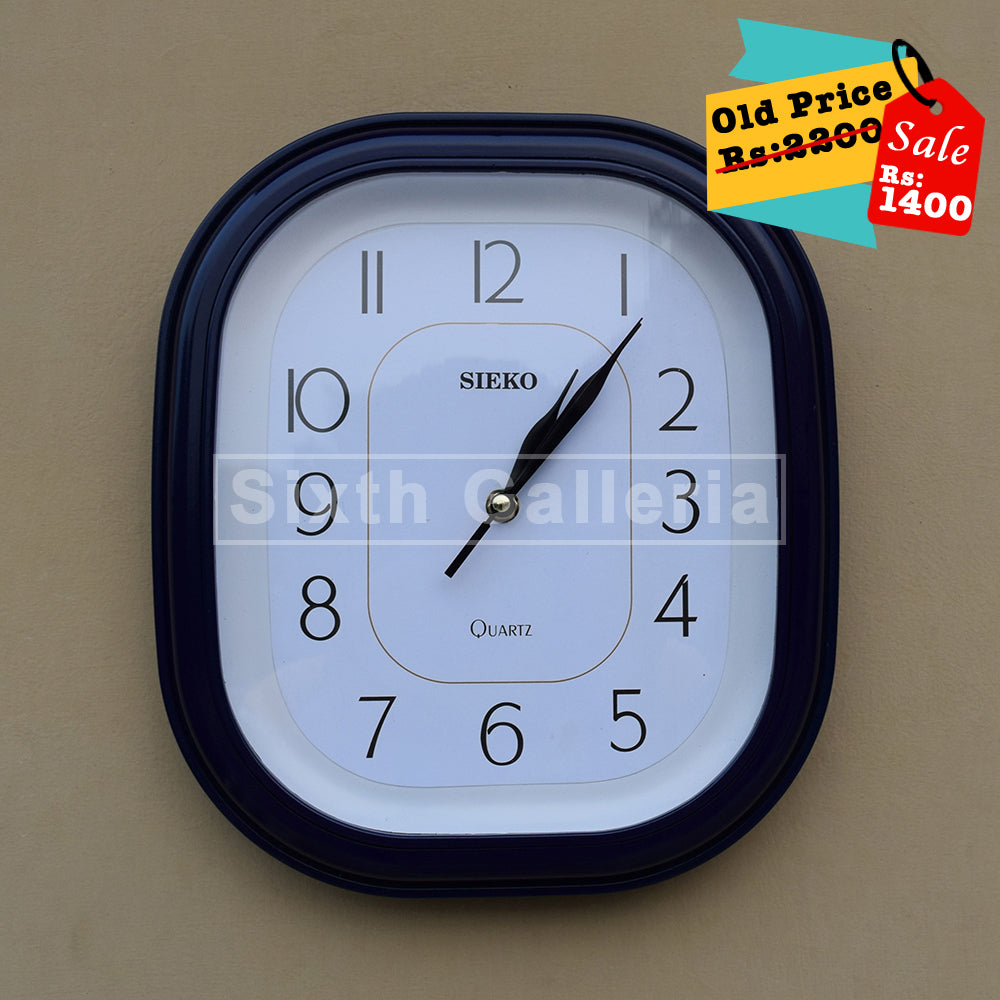 Taunsa Clock Blue