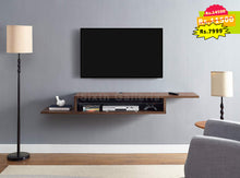Uma Console Large Walnut Brown
