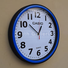 Casio Clock blue