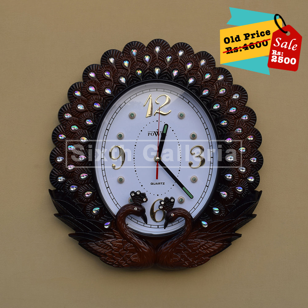 Elsa Clock Brown