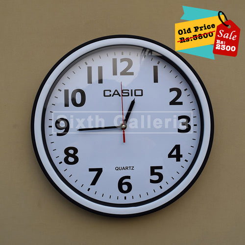 Casio Clock White