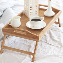 Bed Table Light Brown