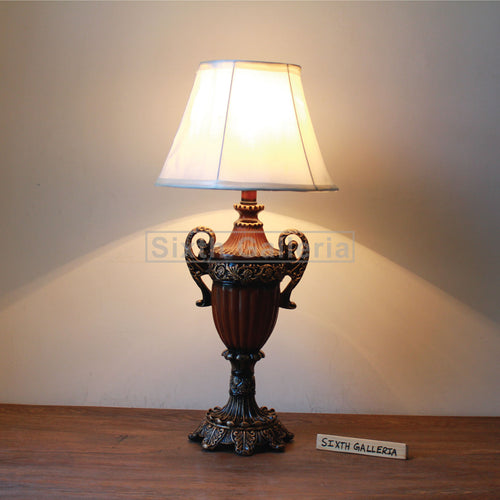 Pair of Dark Caesar Lamps