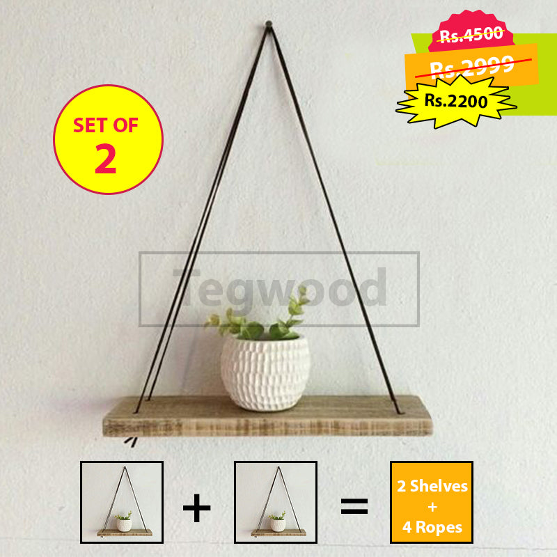 Beji Hanging Shelf (set of 2)