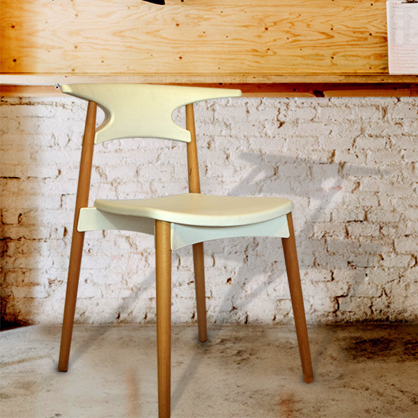 White Comfort Chair