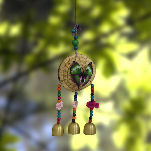 Handmade Butterfly Chimes