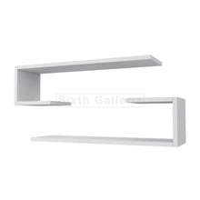Fera Shelves White (Set of 2)