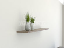 Single Floating Shelf Walnut Brown