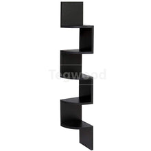 Large Corner Shelf Black