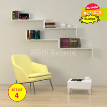 Camilia Shelf White