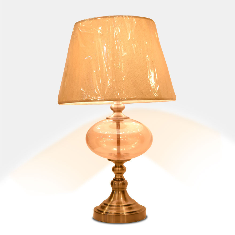 Smooth Gold Lamp