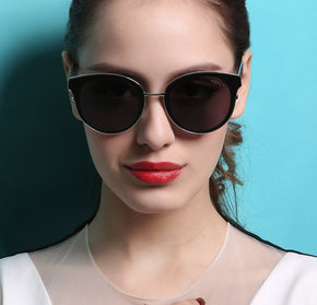 Cat Eye Oval Retro Sunglasses