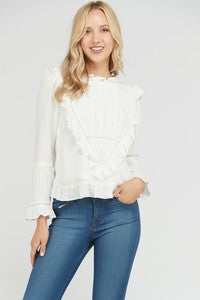 Lillian Detail Blouse