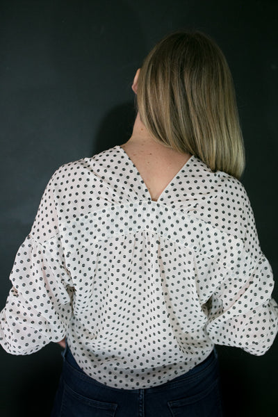 Susanna Dot Blouse