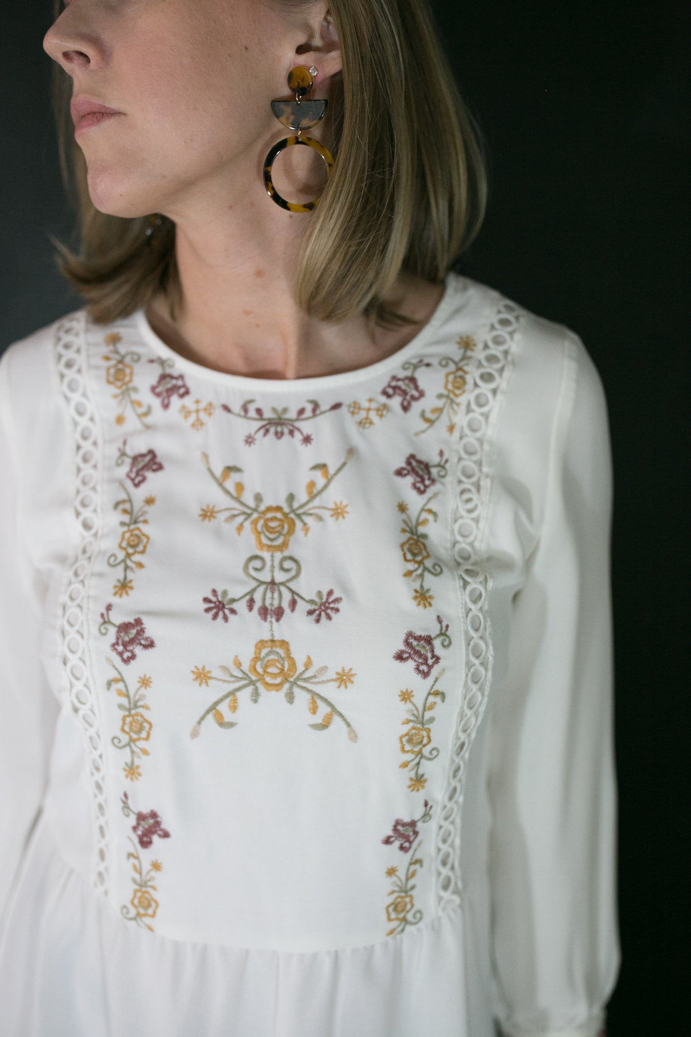 Emery Embroidered Blouse