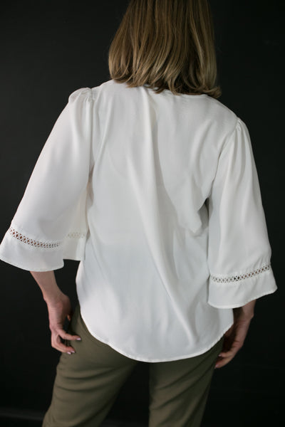 Colette Cream Blouse