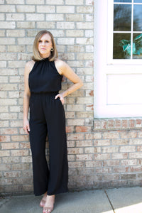Charlie Black Jumpsuit