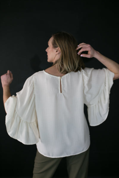 Holly Ruffle Blouse