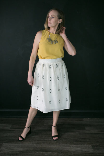 Delilah Diamond Skirt