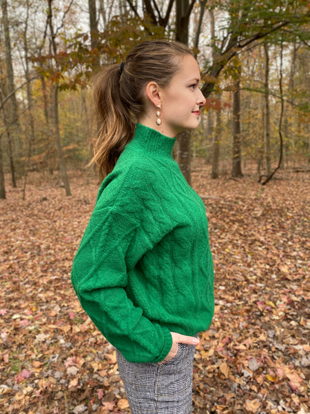 Emerald Green Sweater