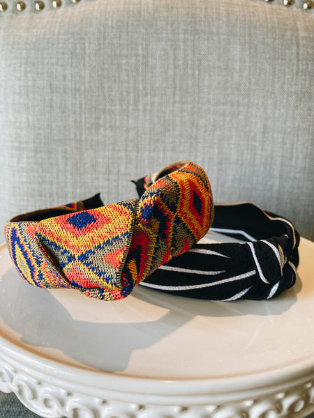 Multi Color Pattern Headband